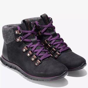 Cole Hana Zerogrand Hiking Boots 7.5